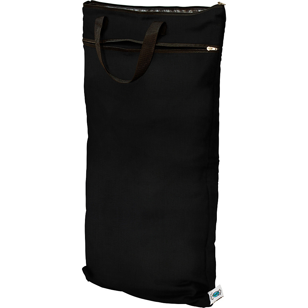 Planet Wise Hanging Wet Dry Bag Black Planet Wise Diaper Bags Accessories
