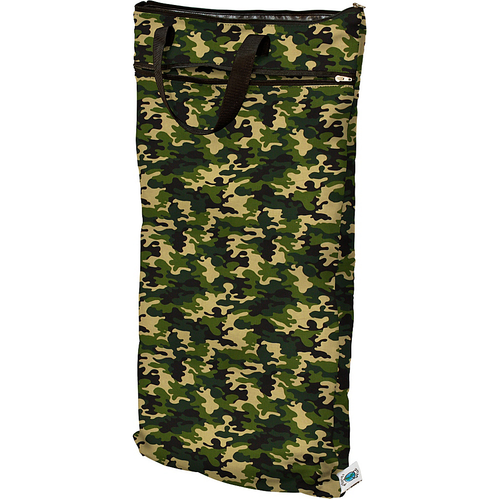 Planet Wise Hanging Wet Dry Bag Camo Planet Wise Diaper Bags Accessories