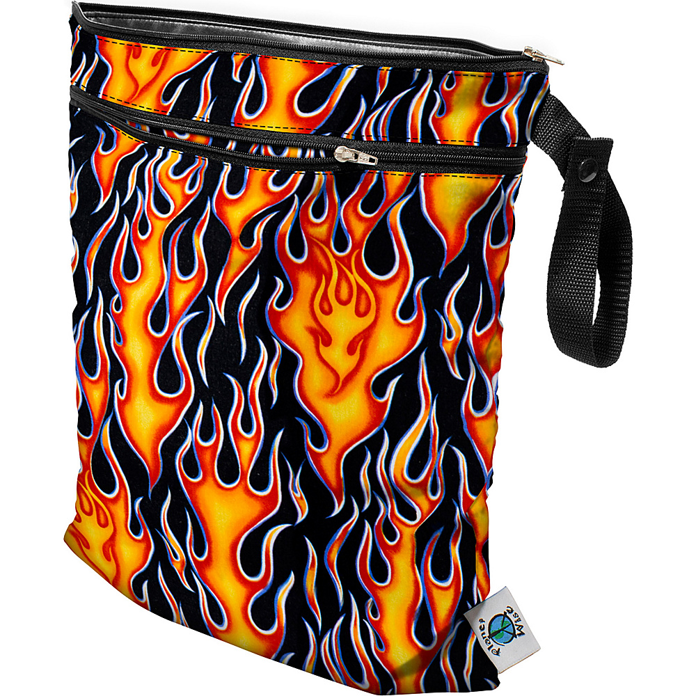 Planet Wise Wet/Dry Bag Flame - Planet Wise Diaper and Baby Accessories