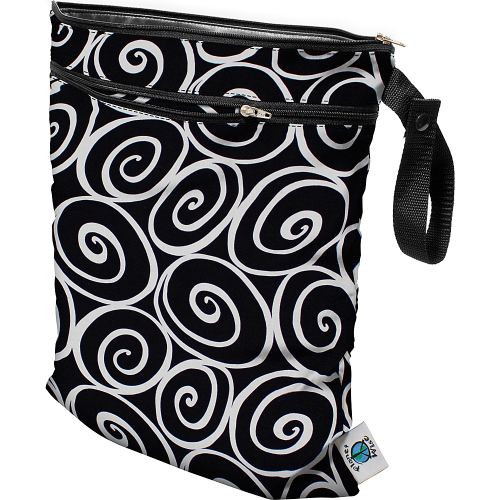Planet Wise Wet/Dry Bag Midnight Curl - Planet Wise Diaper Bags & Accessories