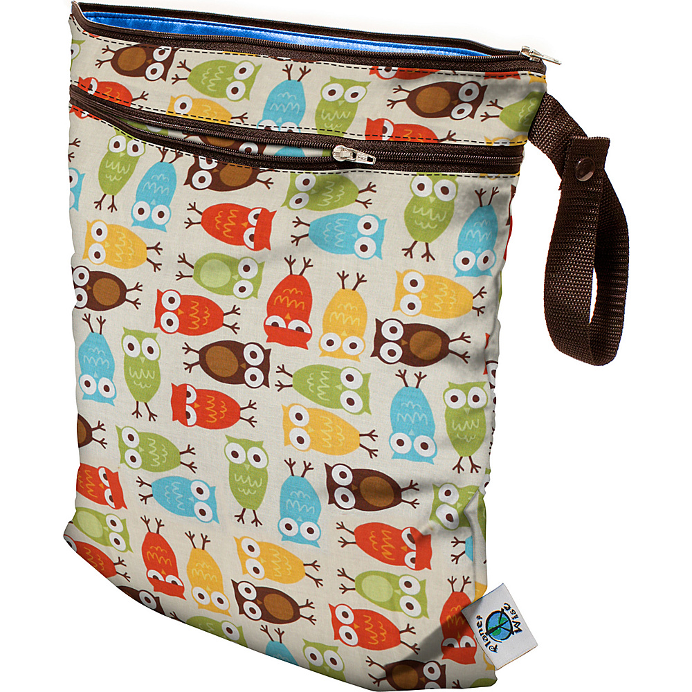 Planet Wise Wet Dry Bag Owl Planet Wise Diaper Bags Accessories