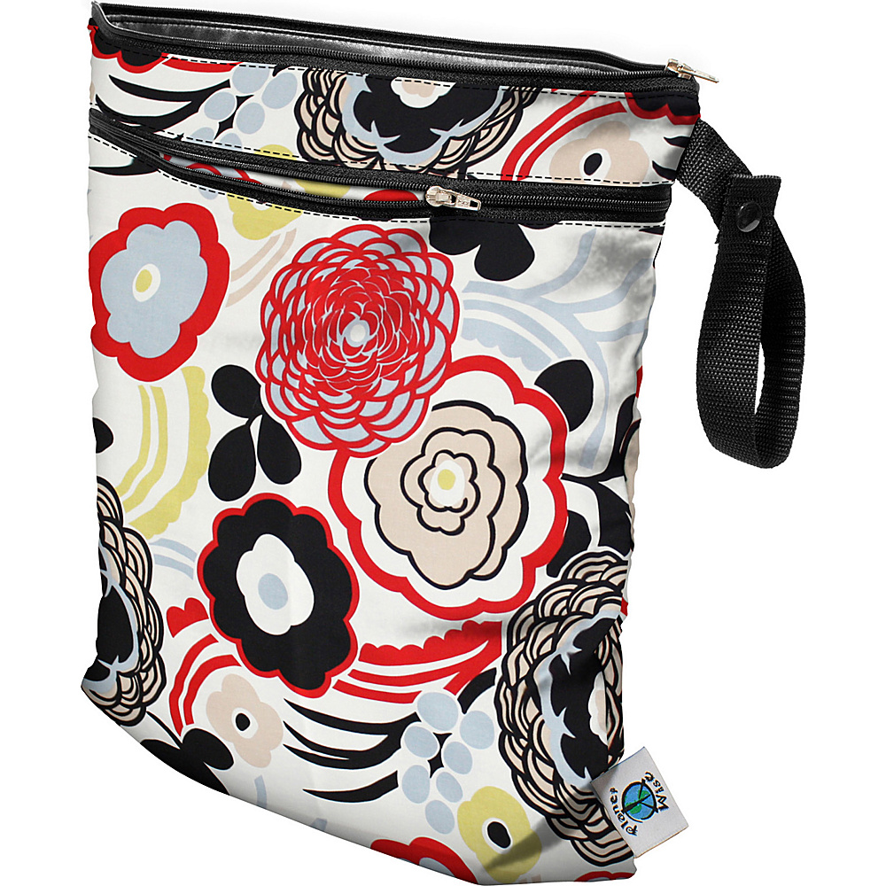 Planet Wise Wet Dry Bag Art Deco Planet Wise Diaper Bags Accessories