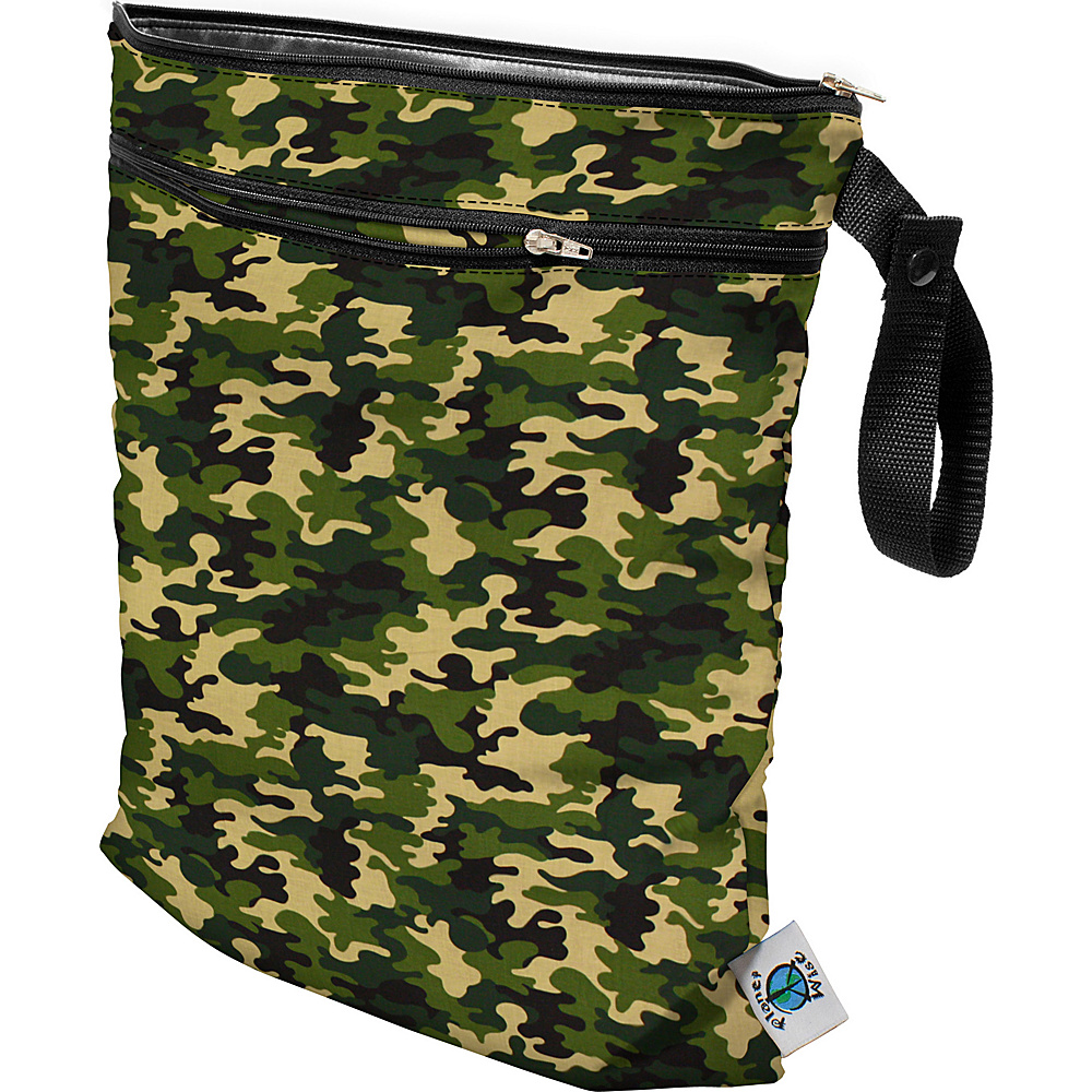 Planet Wise Wet Dry Bag Camo Planet Wise Diaper Bags Accessories