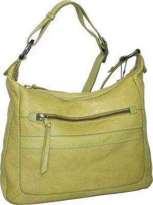 Nino Bossi Slim Sally Crossbody Green - Nino Bossi Leather Handbags