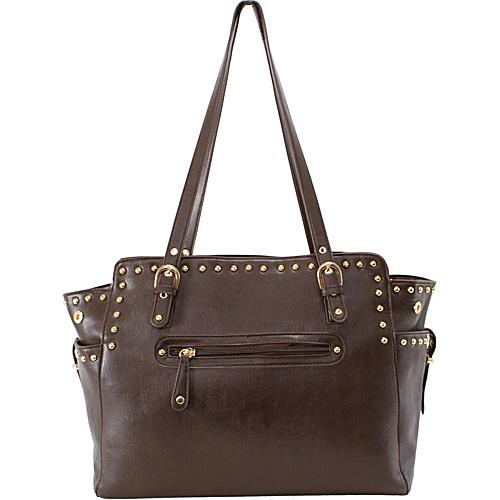 Parinda Felicity Tote Brown - Parinda Manmade Handbags