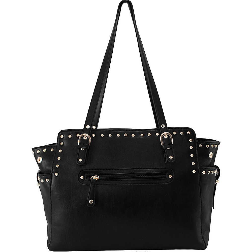 Parinda Felicity Tote Black Parinda Manmade Handbags