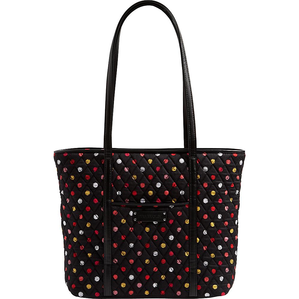 Vera Bradley Small Trimmed Vera Tote Havana Dots - Vera Bradley Fabric Handbags - Handbags, Fabric Handbags