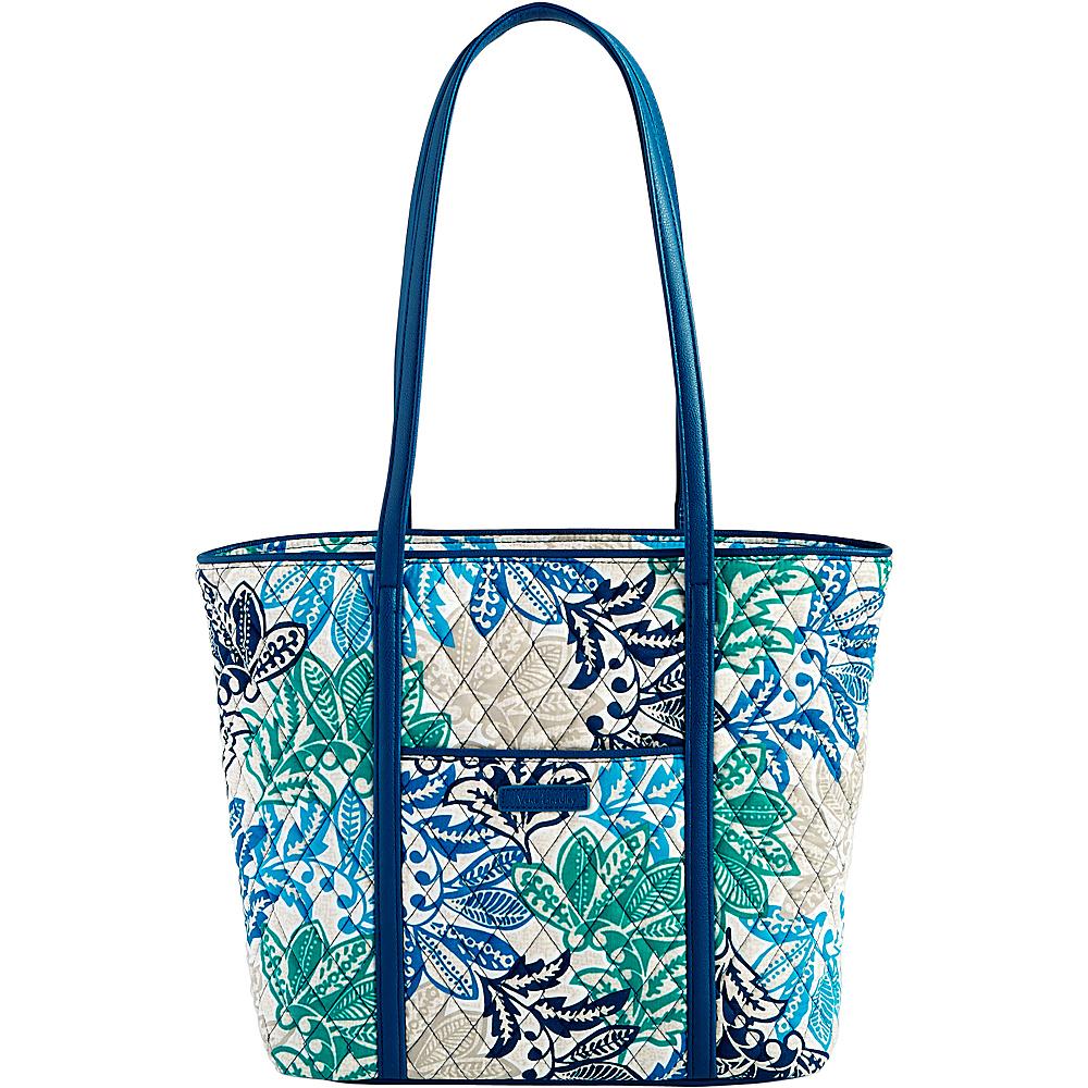 Vera Bradley Small Trimmed Vera Tote Santiago - Vera Bradley Fabric Handbags - Handbags, Fabric Handbags