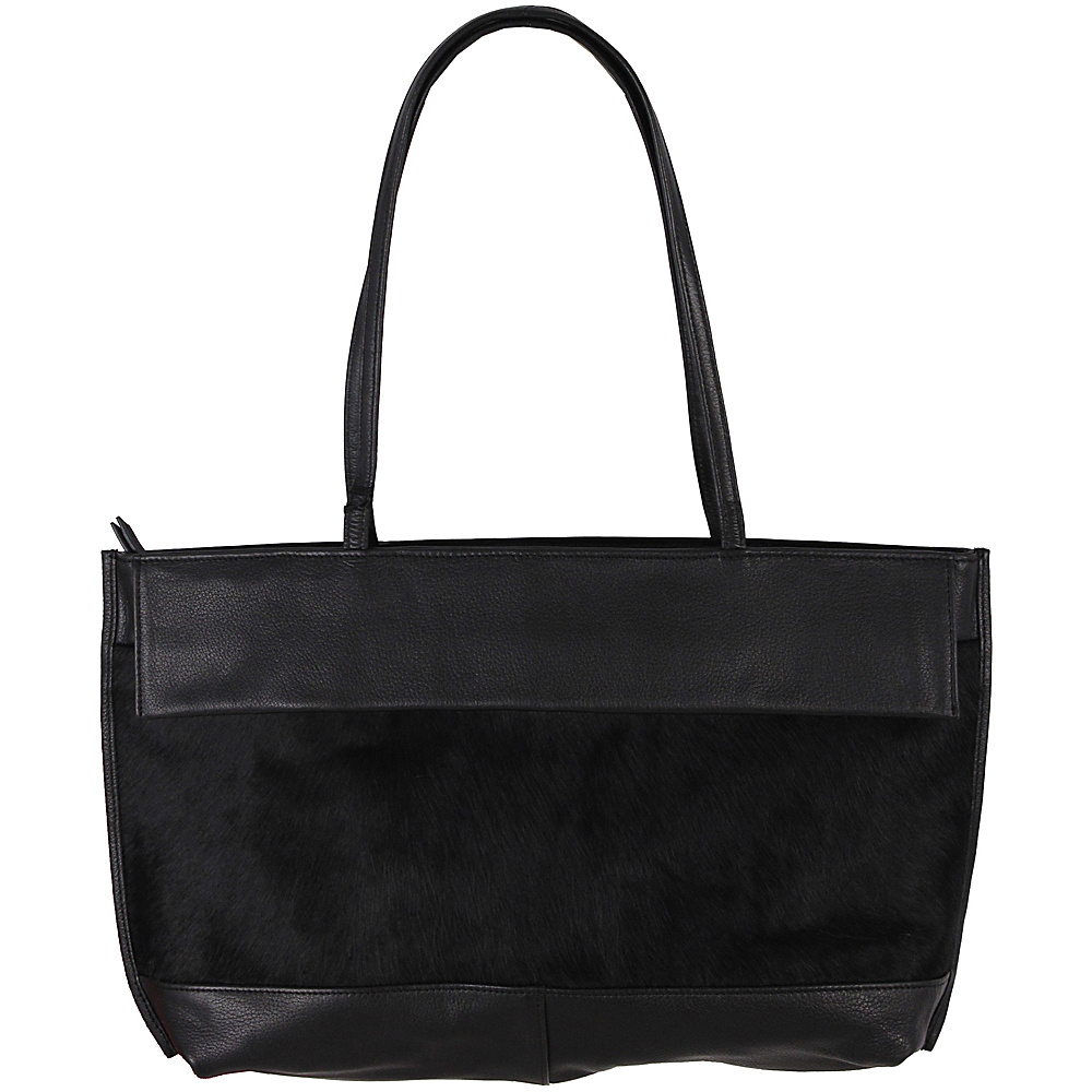 Latico Leathers Barclay Tote Black on Black - Latico Leathers Leather Handbags