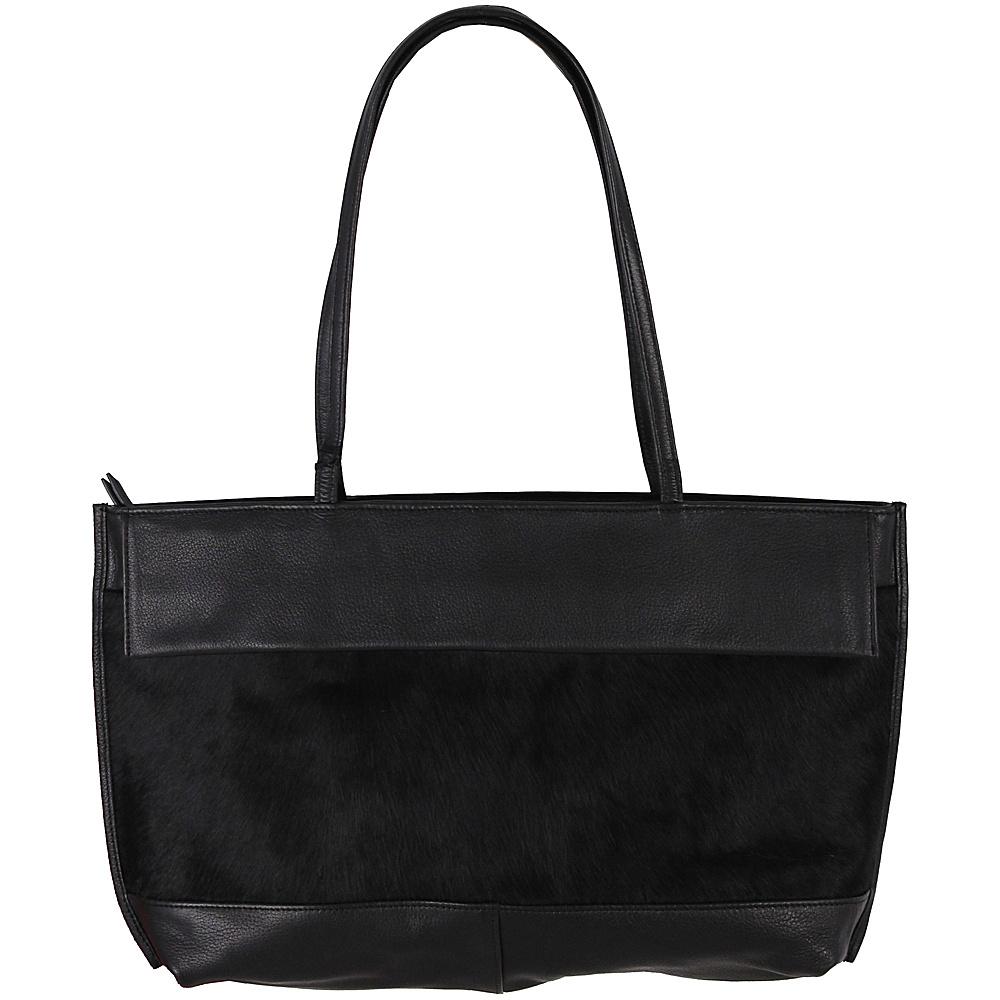 Latico Leathers Barclay Tote Black on Black - Latico Leathers Leather Handbags - Handbags, Leather Handbags