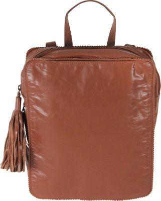 Latico Leathers Blair Backpack Handbag Cognac - Latico Leathers Leather Handbags
