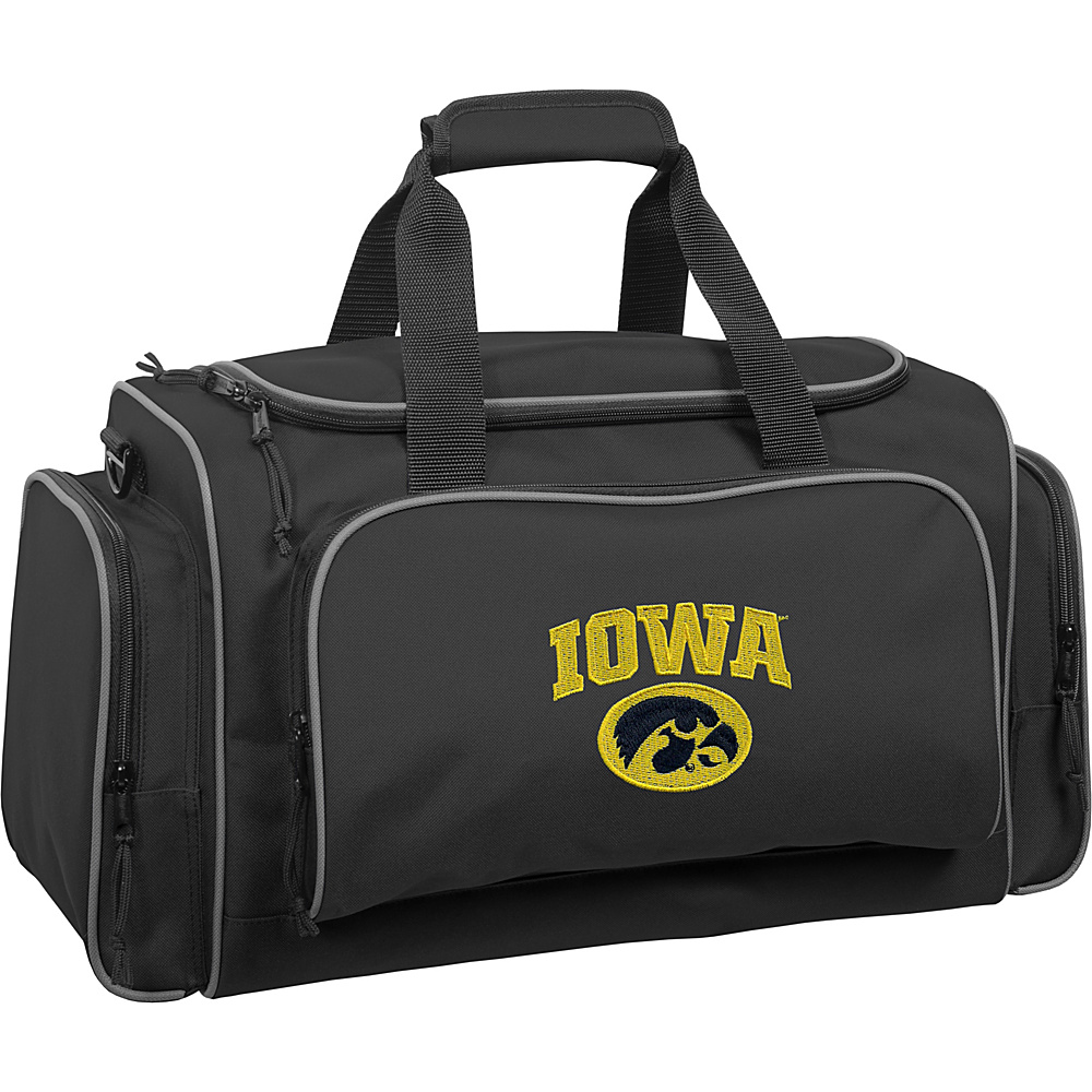Wally Bags Iowa Hawkeyes 21 Collegiate Duffel Black Wally Bags Rolling Duffels