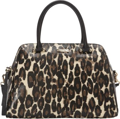 kate spade new york Charles Street Leopard Brantley Satchel Decobeige - kate spade new york Designer Handbags