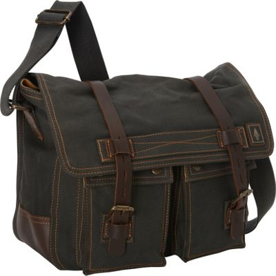 DamnDog Haversack Messenger Rebel Gray - DamnDog Messenger Bags