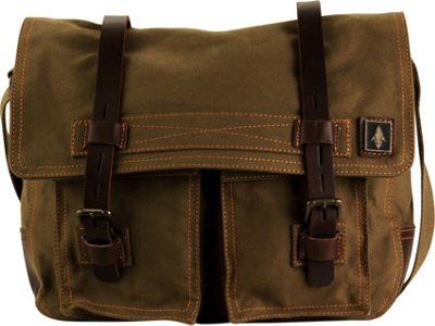 DamnDog Haversack Messenger Swamp Green - DamnDog Messenger Bags