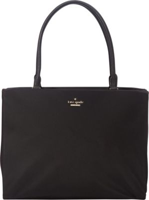 kate spade new york Classic Nylon Phoebe Shoulder Bag Black - kate spade new york Designer Handbags