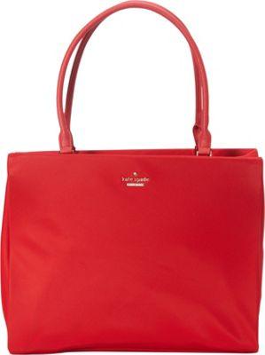 kate spade new york Classic Nylon Phoebe Shoulder Bag Garnet - kate spade new york Designer Handbags