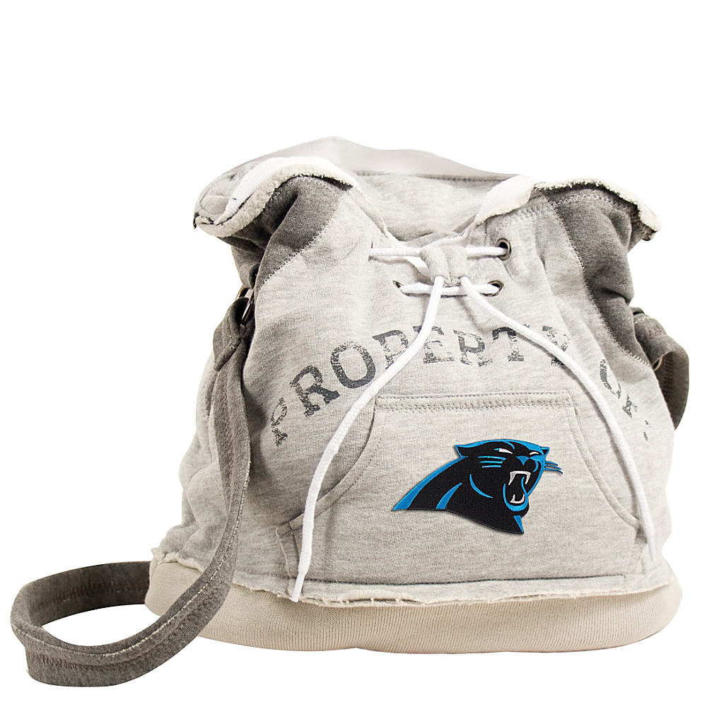 Littlearth Hoodie Shoulder Bag NFL Teams Carolina Panthers Littlearth Fabric Handbags