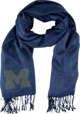 Littlearth Pashi Fan Scarf - Big Ten Teams Michigan, U of - Littlearth Hats/Gloves/Scarves