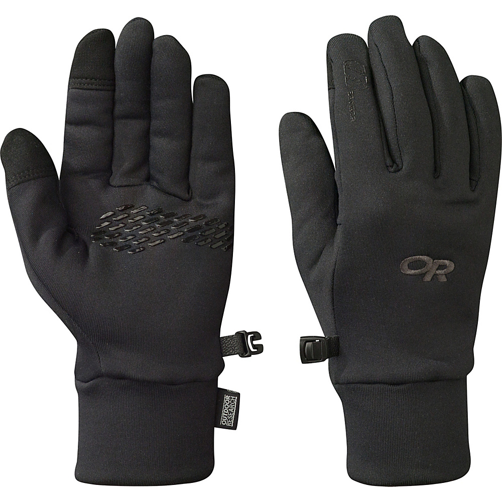 Outdoor Research PL 150 Sensor Gloves Womens L - Black - Outdoor Research Hats/Gloves/Scarves - Fashion Accessories, Hats/Gloves/Scarves