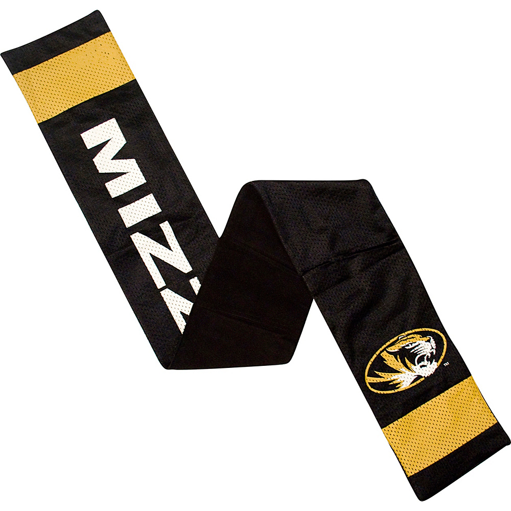 Littlearth Jersey Scarf SEC Teams Missouri U of Littlearth Hats Gloves Scarves