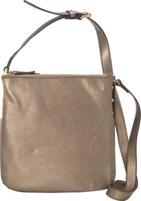 Vince Camuto Neve Small Crossbody Antique Brass - Vince Camuto Designer Handbags