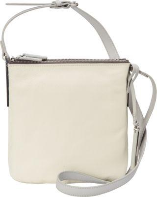 Vince Camuto Neve Small Crossbody Snow White 2/Dove - Vince Camuto Designer Handbags
