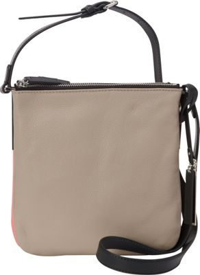 Vince Camuto Neve Small Crossbody Driftwood/Coral - Vince Camuto Designer Handbags