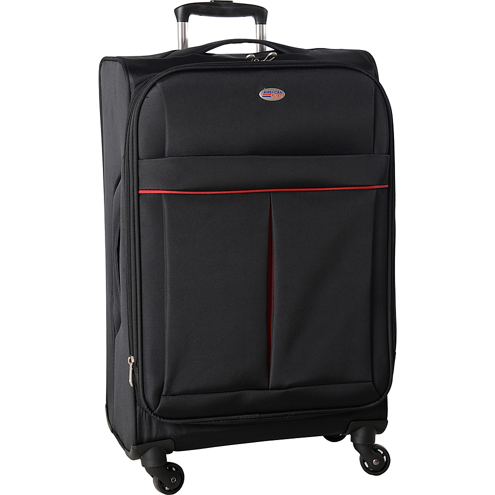 American Flyer Simply Lite! Collection 25 Spinner Black American Flyer Softside Checked