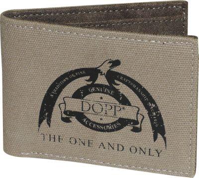Dopp Legacy RFID Front Pocket Slimfold Beige - Dopp Men's Wallets
