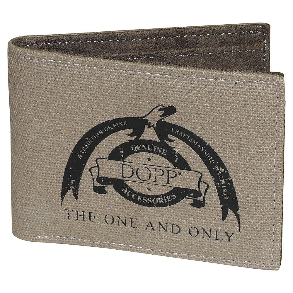 Dopp Legacy RFID Front Pocket Slimfold Beige Dopp Men s Wallets