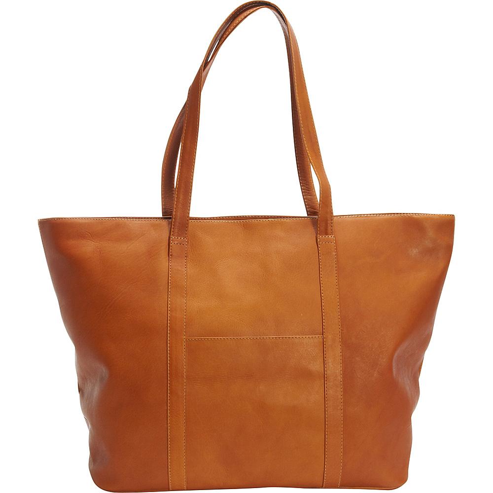 Latico Leathers Suburban Tote Natural - Latico Leathers Leather Handbags - Handbags, Leather Handbags