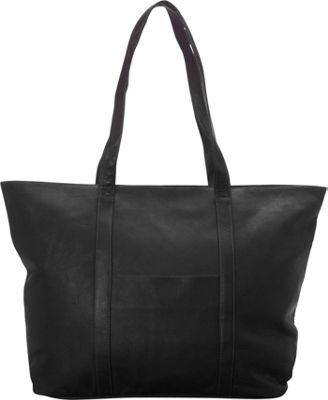 Latico Leathers Suburban Tote Black - Latico Leathers Leather Handbags