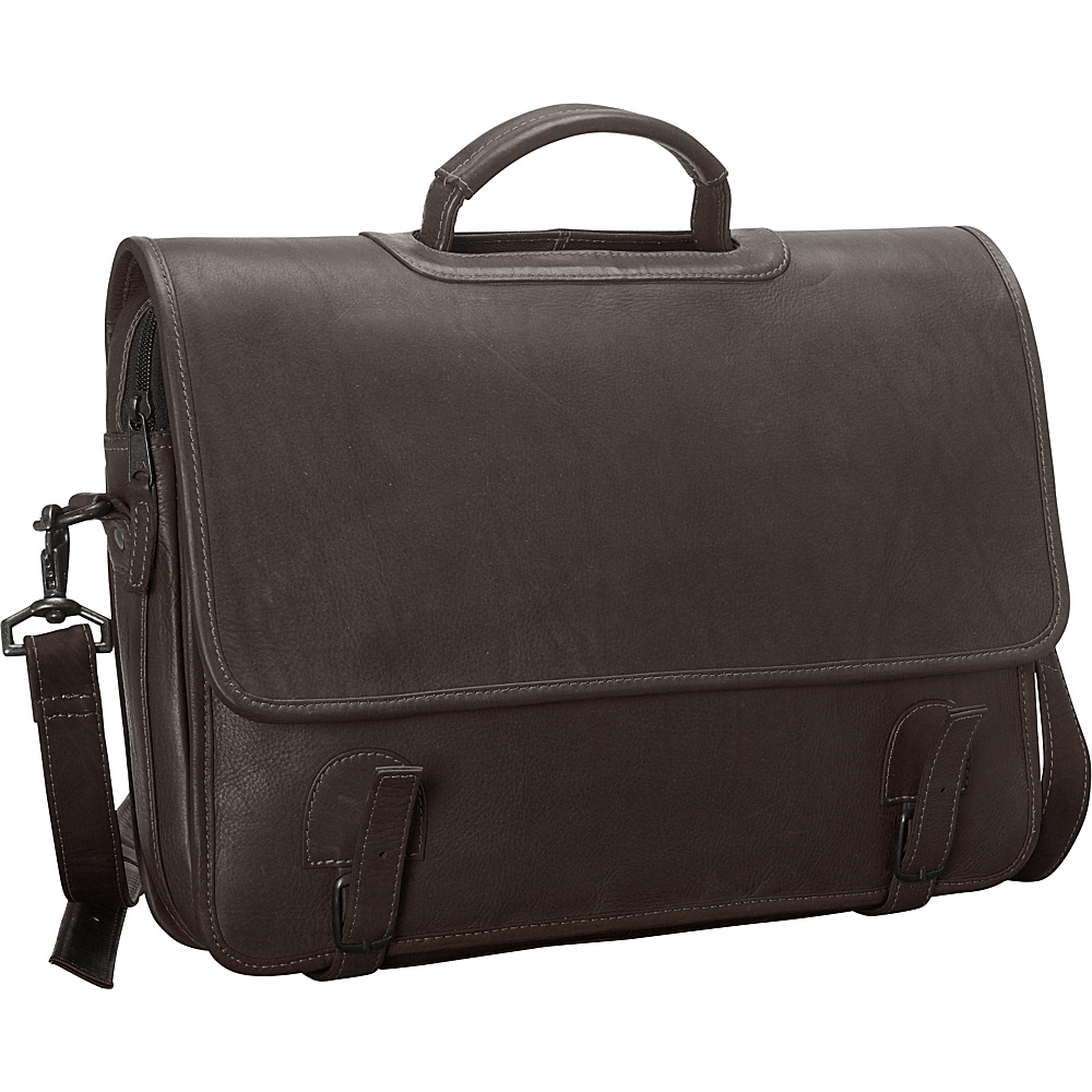 Latico Leathers Grammercy Park Laptop Brief - MD Café - Latico Leathers Non-Wheeled Business Cases - Work Bags & Briefcases, Non-Wheeled Business Cases