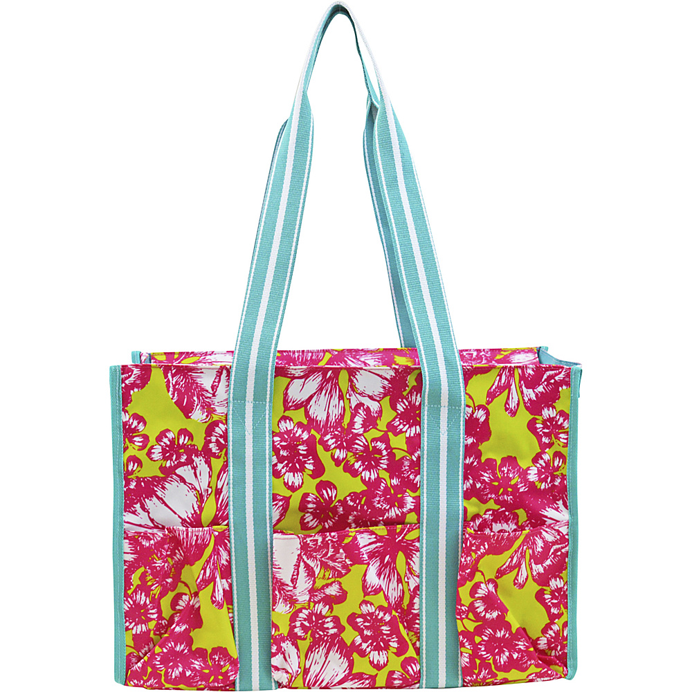 All For Color Organize It Tote Aloha Paradise All For Color Fabric Handbags