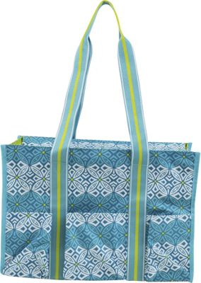 All For Color All For Color Organize It Tote Capri Cove - All For Color Fabric Handbags