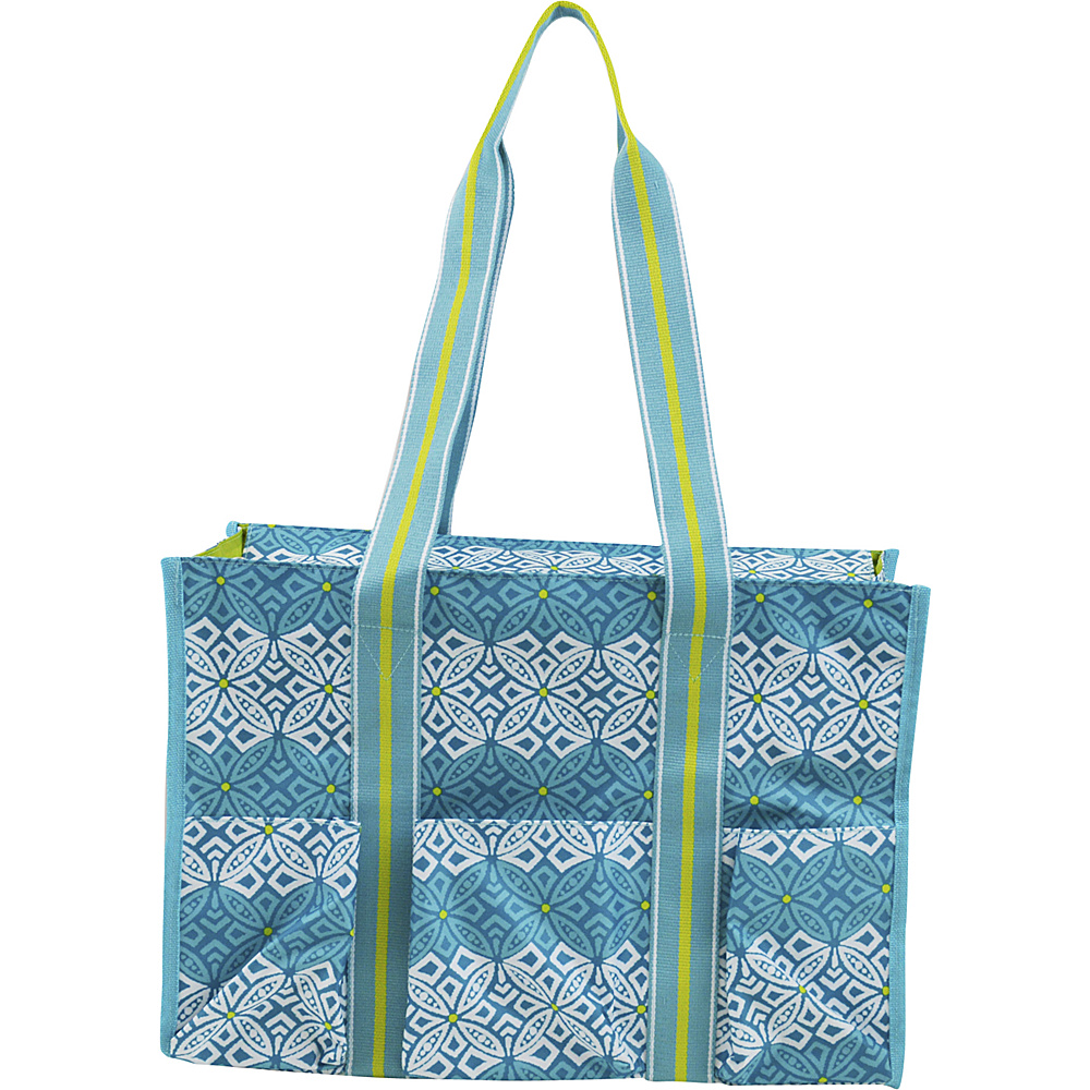 All For Color Organize It Tote Capri Cove All For Color Fabric Handbags