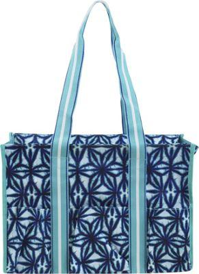 All For Color Organize It Tote Indigo Batik - All For Color Fabric Handbags