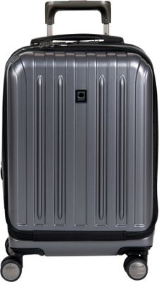 Delsey Helium Titanium International Carry-On Spinner Trolley Graphite - Delsey Hardside Carry-On