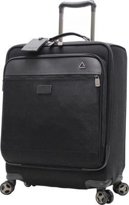 "Image of Andiamo Avanti 20"" Carry-On Spinner Midnight Black - Andiamo Small Rolling Luggage"