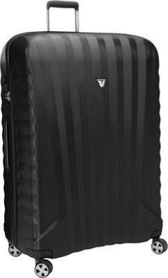 Roncato UNO ZSL Premium ZSL 34 inch Spinner Black - Roncato Hardside Checked