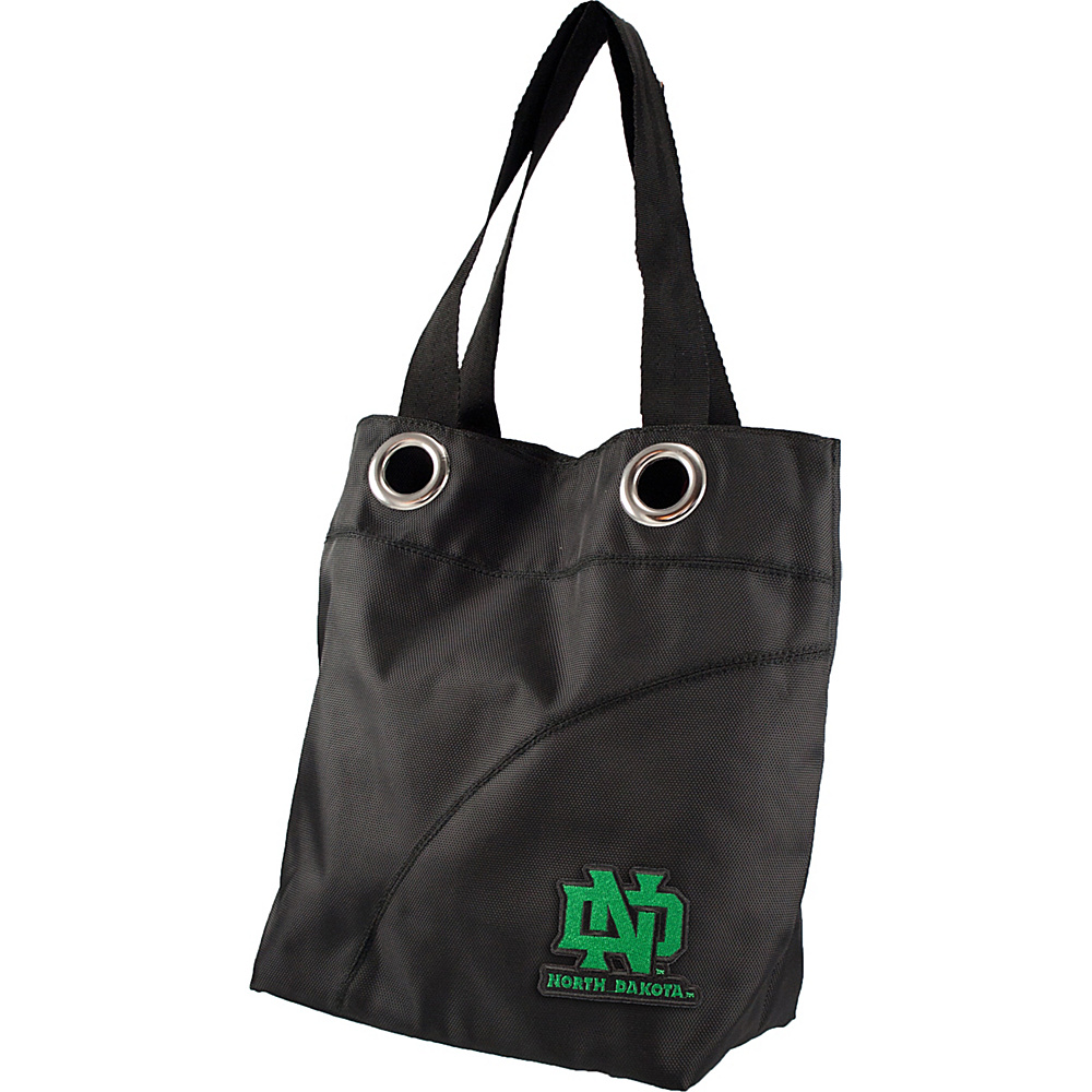 Littlearth Color Sheen Tote - College Teams North Dakota, U of - Littlearth Fabric Handbags - Handbags, Fabric Handbags