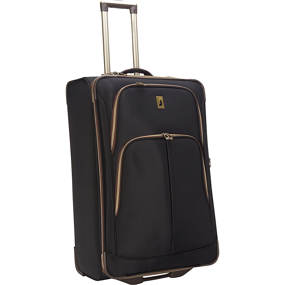 "London Fog Coventry Ultra-Lite Collection 29"" Exp. Upright Black - London Fog Hardside Luggage"