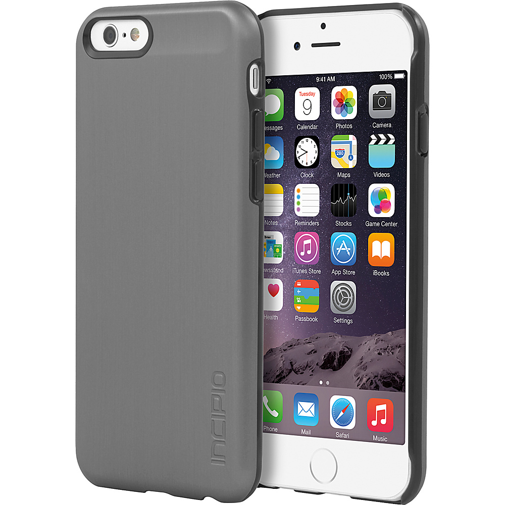 Incipio Feather SHINE iPhone 6 6s Case Gunmetal Incipio Electronic Cases