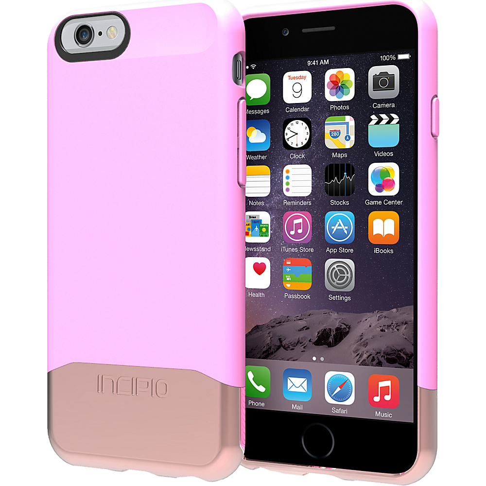Incipio Edge Chrome iPhone 6 Case Pink Rose Gold Incipio Electronic Cases