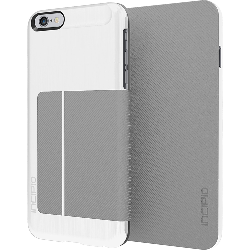 Incipio Highland iPhone 6 6s Plus White Gray Incipio Electronic Cases
