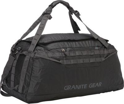 Granite Gear 30 inch Packable Duffel Black/Flint - Granite Gear Outdoor Duffels