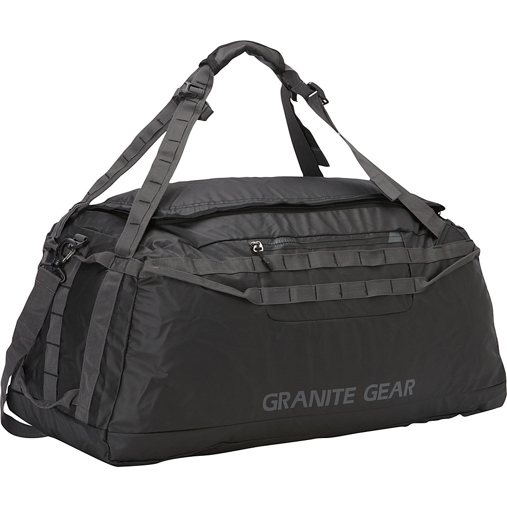 "Granite Gear 30"" Packable Duffel Black/Flint - Granite Gear Lightweight packable expandable bags"