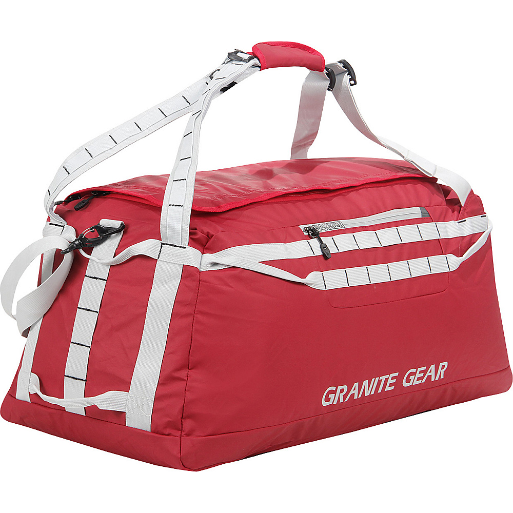 "Granite Gear 30"" Packable Duffel Redrock/Chromium - Granite Gear Lightweight packable expandable bags"