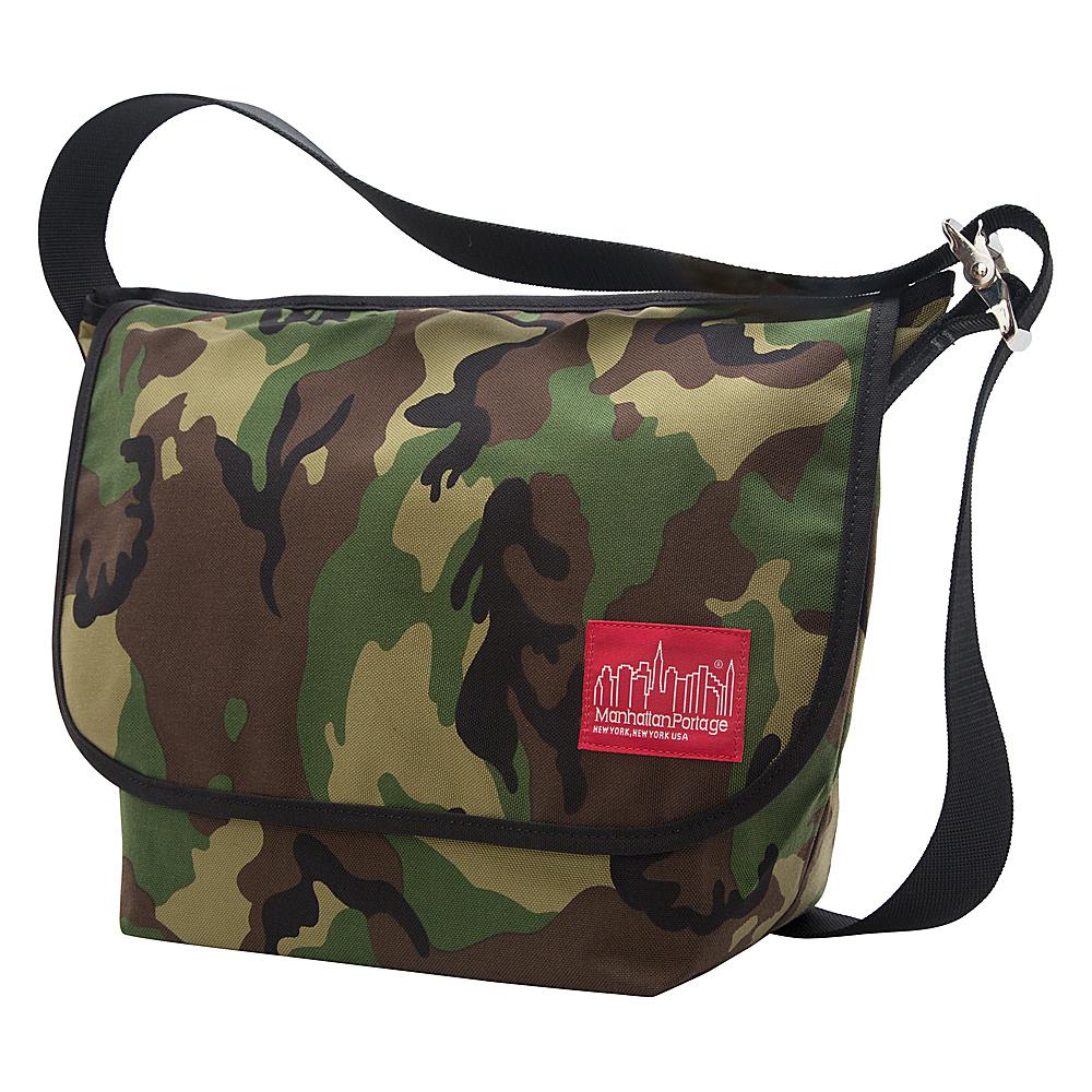 Manhattan Portage Vintage Medium Messenger Bag Camouflage - Manhattan Portage Messenger Bags - Work Bags & Briefcases, Messenger Bags